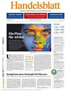 Handelsblatt - 09. Juli 2018
