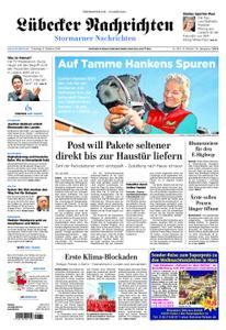 Lübecker Nachrichten Stormarn - 08. Oktober 2019