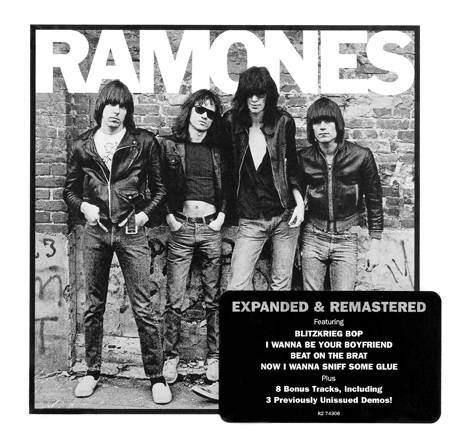 The Ramones - Ramones (1976/2001) [Expanded & Remastered Reissue] FULLY RENEWED & RESTORED