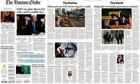 The Boston Globe – November 03, 2017