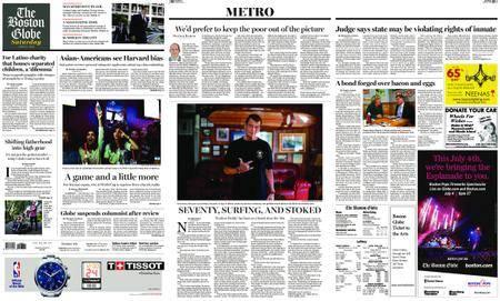 The Boston Globe – June 16, 2018