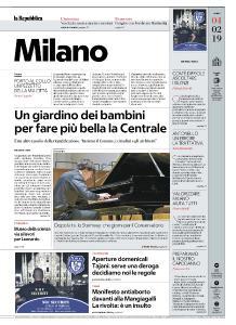 la Repubblica Milano - 4 Febbraio 2019