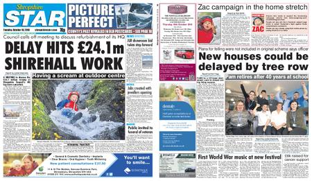 Shropshire Star Shrewsbury Edition – October 16, 2018