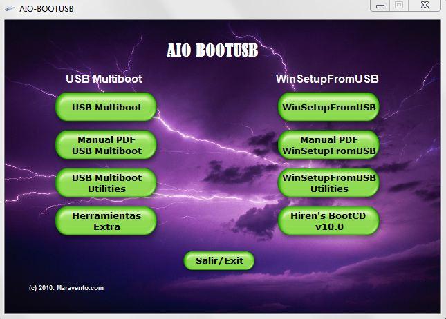 AiO USB Boot