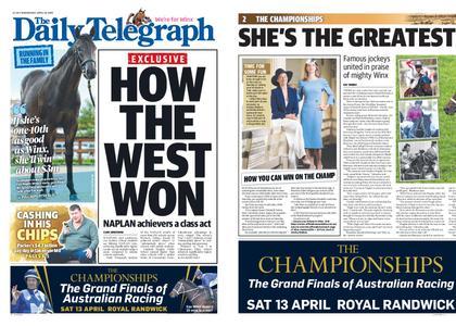 The Daily Telegraph (Sydney) – April 10, 2019