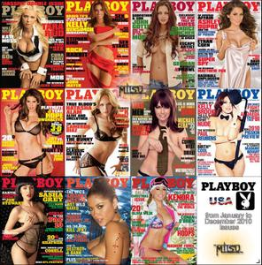 Playboy USA - Full Year 2010 Issues Collection