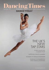 Dancing Times - Issue 1291 - March 2018