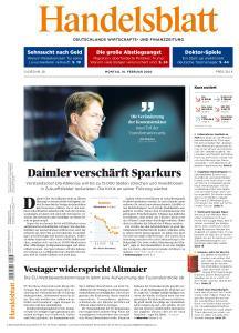 Handelsblatt - 10 Februar 2020
