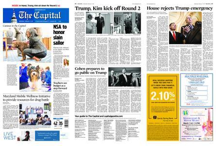 The Capital – February 27, 2019