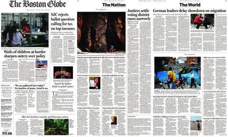 The Boston Globe – June 19, 2018