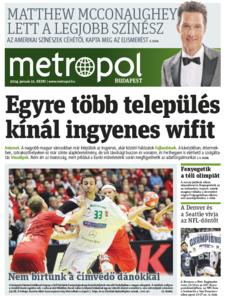 Metro [Hungary - Budapest], 21. Januar 2014