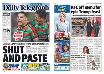 The Daily Telegraph (Sydney) – September 21, 2019