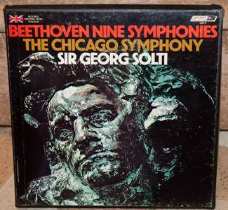 Beethoven - Chicago Symphony Orchestra / Sir Georg Solti – The Nine Symphonies (1975) [Vinyl Rip 16/44 & mp3-320]