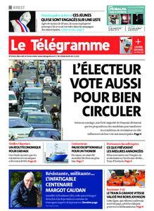Le Télégramme Brest – 12 février 2020