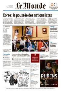 Le Monde du Jeudi 23 Novembre 2017