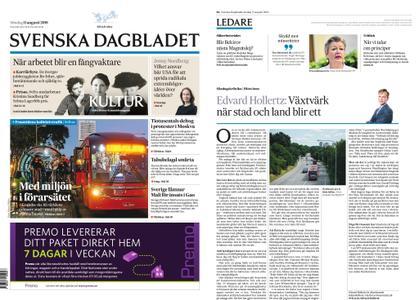 Svenska Dagbladet – 11 augusti 2019