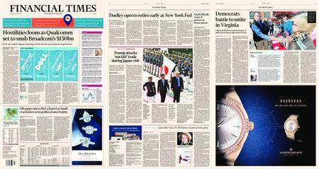 Financial Times Europe – 07 November 2017