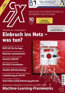 iX Magazin - Oktober 2019