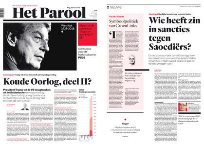 Het Parool – 22 oktober 2018