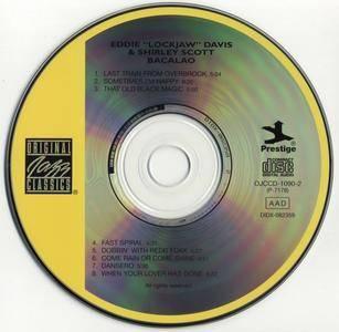 "Eddie ""Lockjaw"" Davis & Shirley Scott - Bacalao (1959) [FLAC] {Prestige OJCCD-1090-2 rel 2003}"