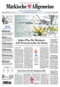 Neue Oranienburger Zeitung - 21. März 2018