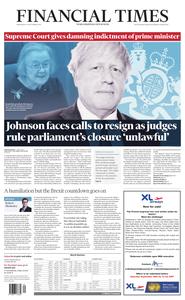 Financial Times UK – 25 September 2019
