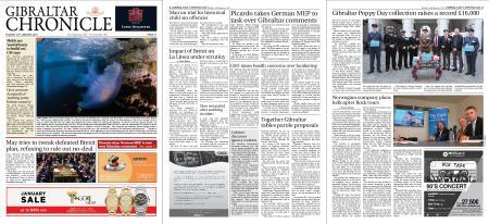 Gibraltar Chronicle – 22 January 2019