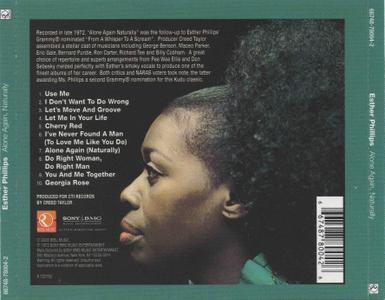 Esther Phillips - Alone Again, Naturally (1972) [2008