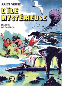 Jules Verne - Tome 2 - L'île Mystérieuse
