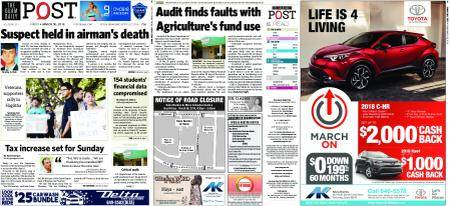 The Guam Daily Post – March 30, 2018