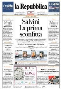 la Repubblica - 27 Gennaio 2020