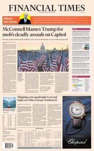 Financial Times Middle East - January 20, 2021