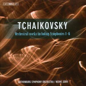 Tchaikovsky - Orchestral works including Symphonies 1-6 (Neeme Jarvi, Gothenburg Symphony Orchestra) (2011) (6CD Box Set)