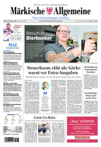Neue Oranienburger Zeitung - 26. Oktober 2018
