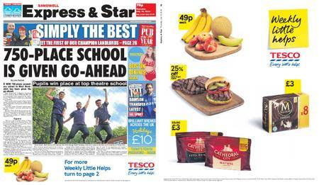 Express and Star Sandwell Edition – July 19, 2018