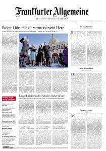 Frankfurter Allgemeine Zeitung - 21 Januar 2021