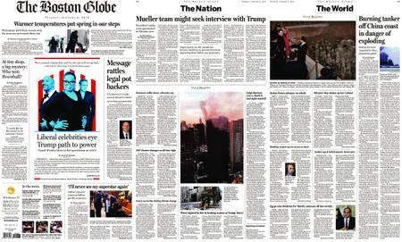 The Boston Globe – January 09, 2018