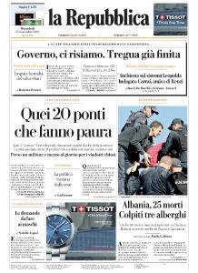 la Repubblica - 27 Novembre 2019