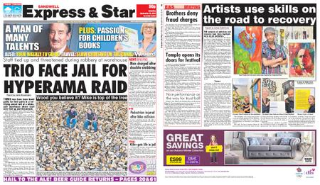 Express and Star Sandwell Edition – September 28, 2019