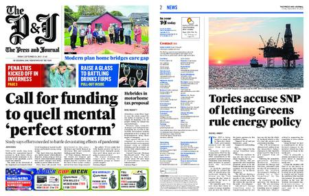 The Press and Journal Moray – September 24, 2021