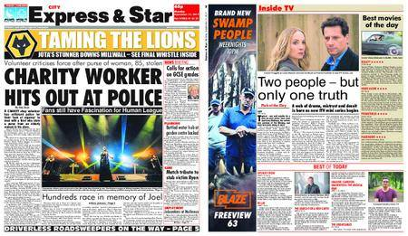 Express and Star City Edition – September 11, 2017