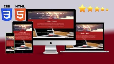 Responsive Web Development with HTML5 & CSS3 For Beginners (Updated)