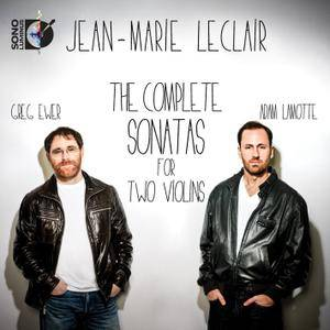 Adam LaMotte, Greg Ewer - Leclair: The Complete Sonatas for Two Violins (2014) [Official Digital Download 24/96] RE-POST