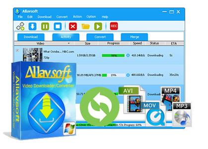 Allavsoft Video Downloader Converter 3.17.8.7172 Multilingual Portable