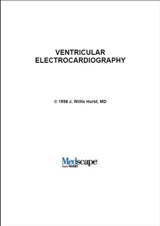 Medicine Hurst Ventricular Electrocardiography