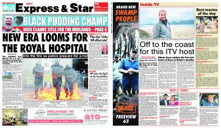 Express and Star City Edition – September 12, 2017