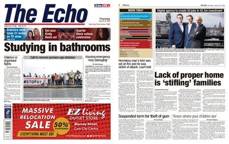 Evening Echo – January 30, 2020