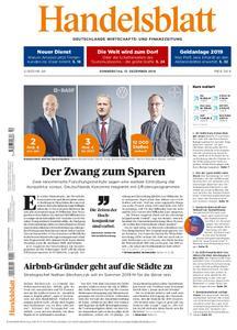 Handelsblatt - 13. Dezember 2018