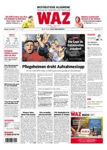 WAZ Westdeutsche Allgemeine Zeitung Oberhausen-Sterkrade - 03. April 2018