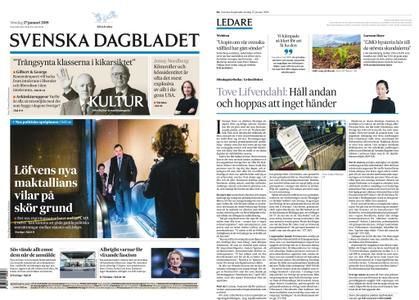 Svenska Dagbladet – 27 januari 2019